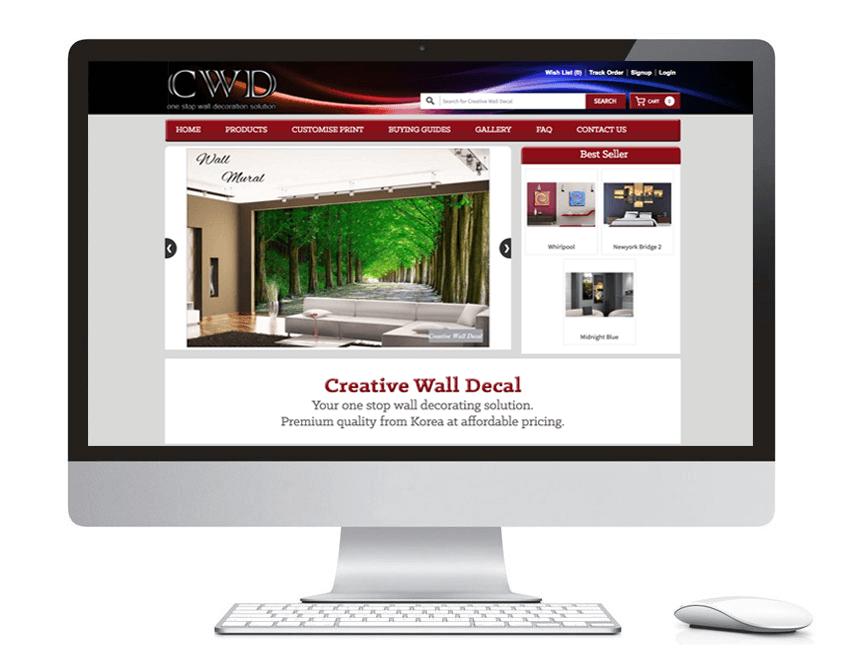 web design portfolio cwd