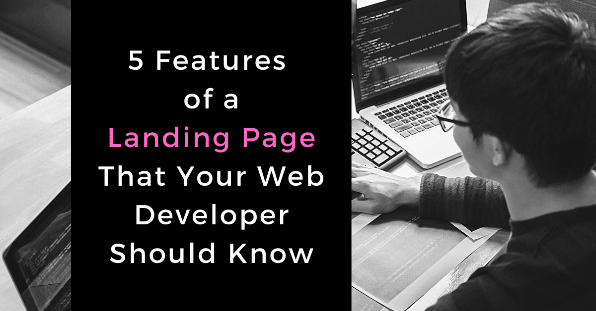 5 features of a landing page