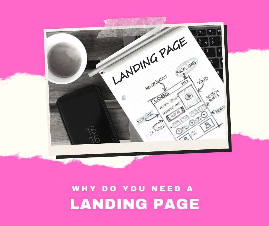why do you need a landing page